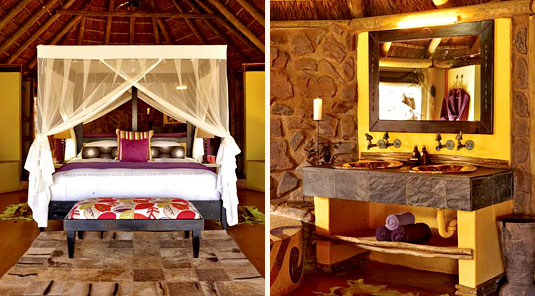 Jaci's Safari Lodge - Madikwe Game Reserve -Luxury Suite & Bathroom