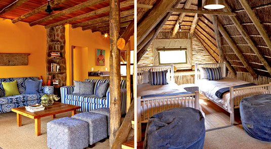 Jaci's Safari Lodge - Madikwe Game Reserve - Nare Suite Loung & Twin Room
