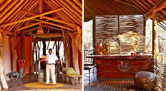 Jaci's Tree Lodge - Madikwe Game Reserve - Welcome Drinks & Bar