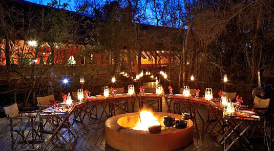 Jaci's Tree Lodge - Madikwe Game Reserve - Boma Dining