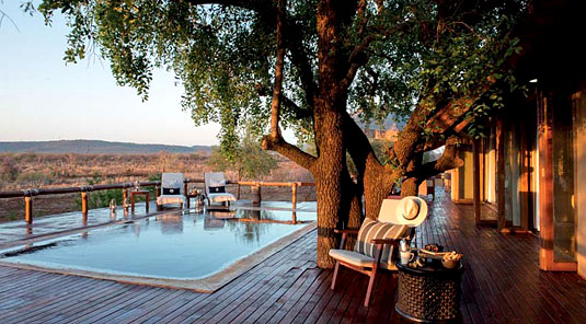 Little Madikwe Hills - Madikwe Game Reserve - Deck & Swimmimg Pool