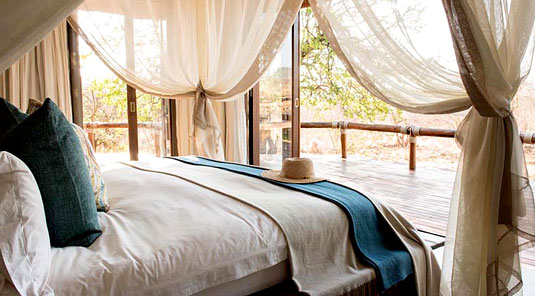 Little Madikwe Hills - Madikwe Game Reserve - Suite Deck View