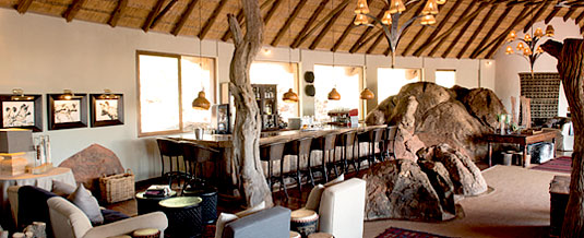 Madikwe Hills Private Game Lodge - Madikwe Game Reserve - Main Loge Bar