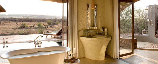 Madikwe Hills Private Game Lodge - Madikwe Game Reserve - Madikwe Hills Suite Bathroom