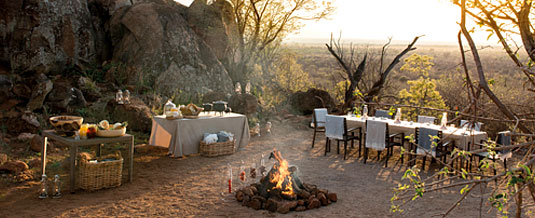 Madikwe Hills Private Game Lodge - Madikwe Game Reserve - Boma Bush Dinner