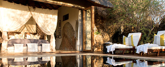 Madikwe Hills Private Game Lodge - Madikwe Game Reserve - Madikwe Hills Honeymoon Suite