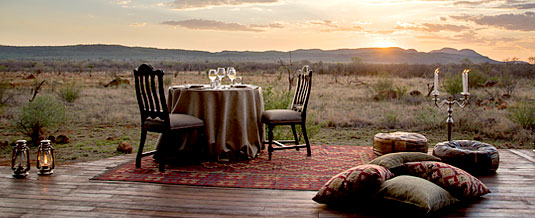 Madikwe Hills Private Game Lodge - Madikwe Game Reserve - Private Dining