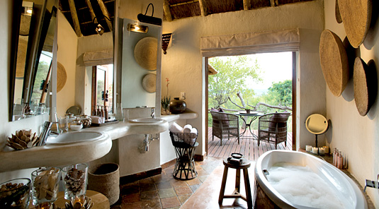 Suite Bathroom - Madikwe Safari Lodge - Madikwe Game Reserve