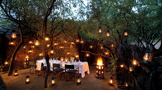 Boma Dining - Madikwe Safari Lodge - Madikwe Game Reserve