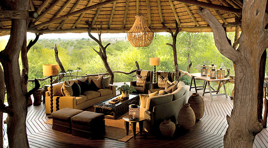 Lounge Deck - Madikwe Safari Lodge - Madikwe Game Reserve