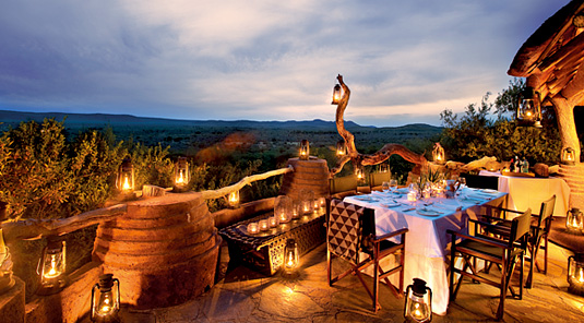 Deck Dining - Madikwe Safari Lodge - Madikwe Game Reserve