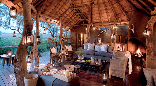 Lodge Lounge - Madikwe Safari Lodge - Madikwe Game Reserve