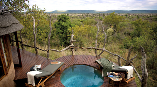 Suite Private Deck - Madikwe Safari Lodge - Madikwe Game Reserve