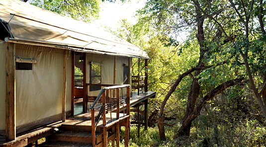 Thakadu River Camp - TSented Suite - Madikwe Game Reserve